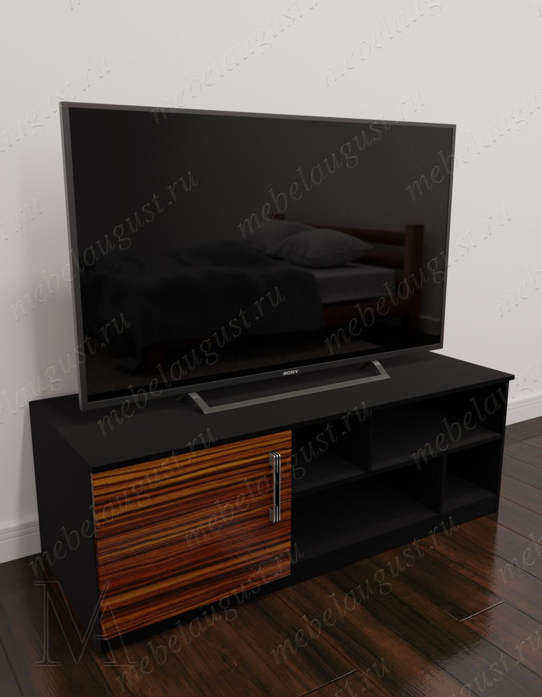 Глянцевый маленький комод под телевизор в гостиную