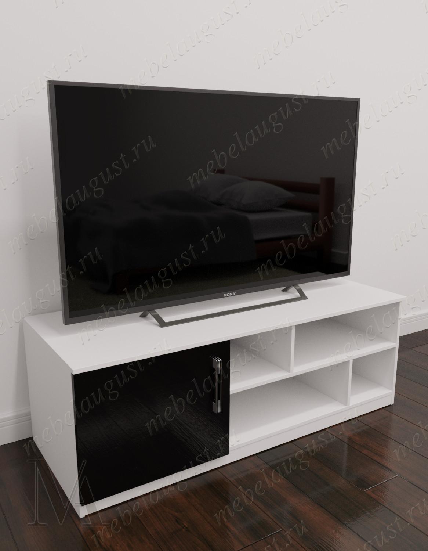 Малогабаритный комод в гостиную с полкой для телевизора