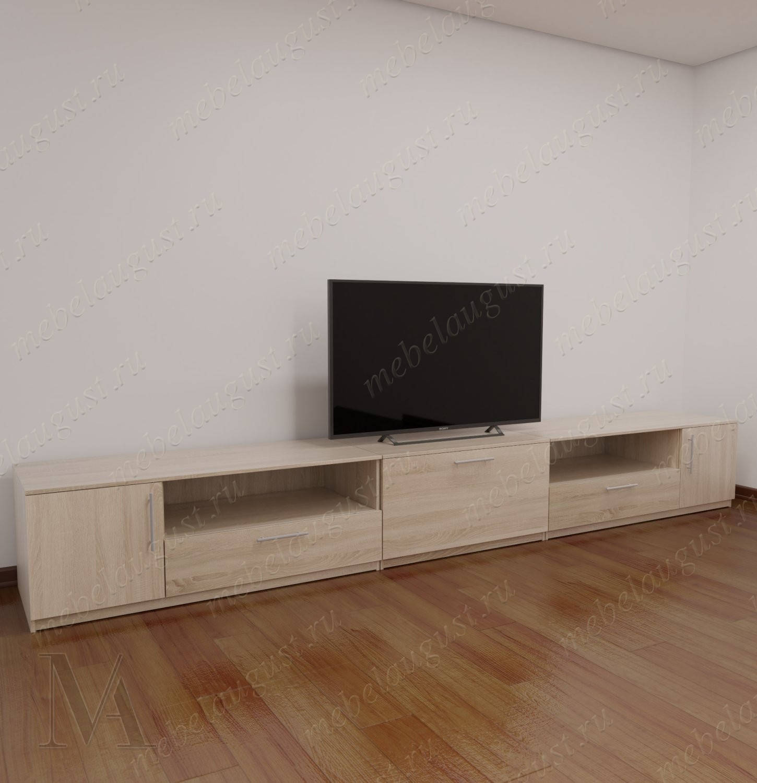 Невысокий комод под телевизор в гостиную