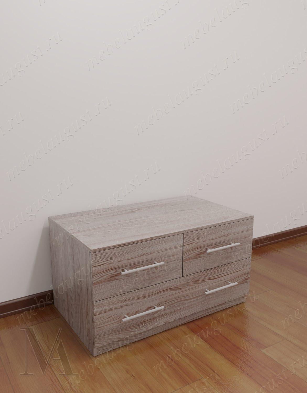 Малогабаритный комод с тремя ящиками в спальню