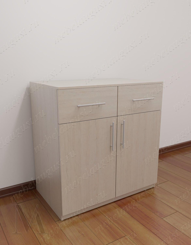 Бельевой комод с двумя ящиками в спальню