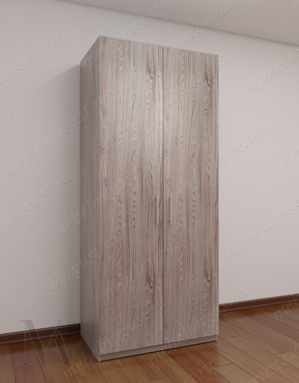 2-створчатый шкаф для одежды в спальню цвета пикар