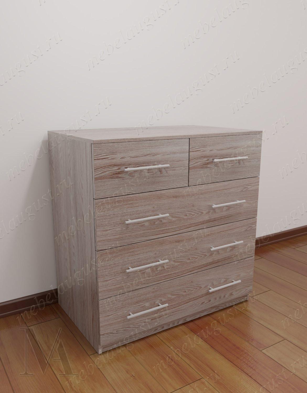 Бельевой комод для спальни с пятью ящиками