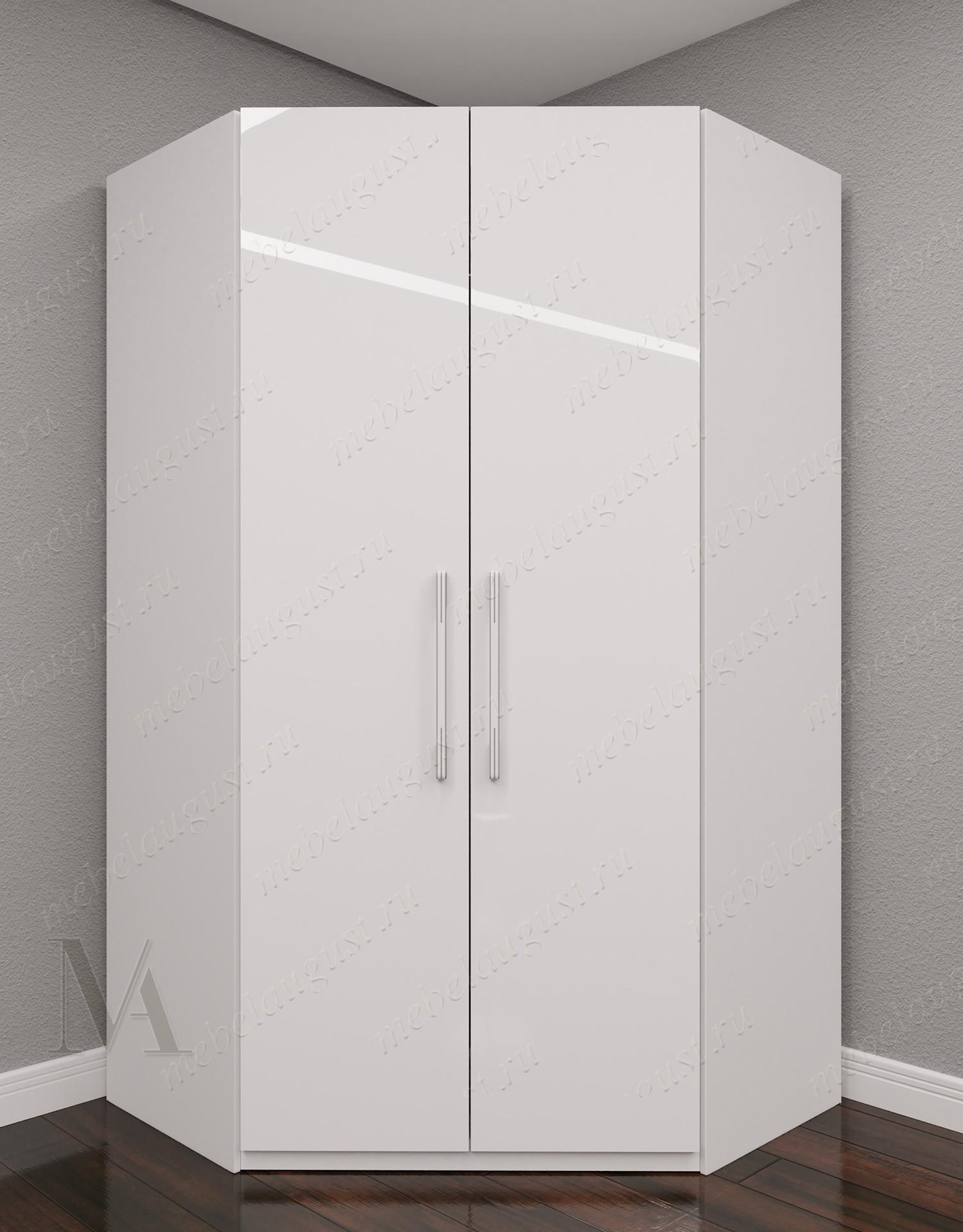2-дверный угловой распашной шкаф для одежды для спальни