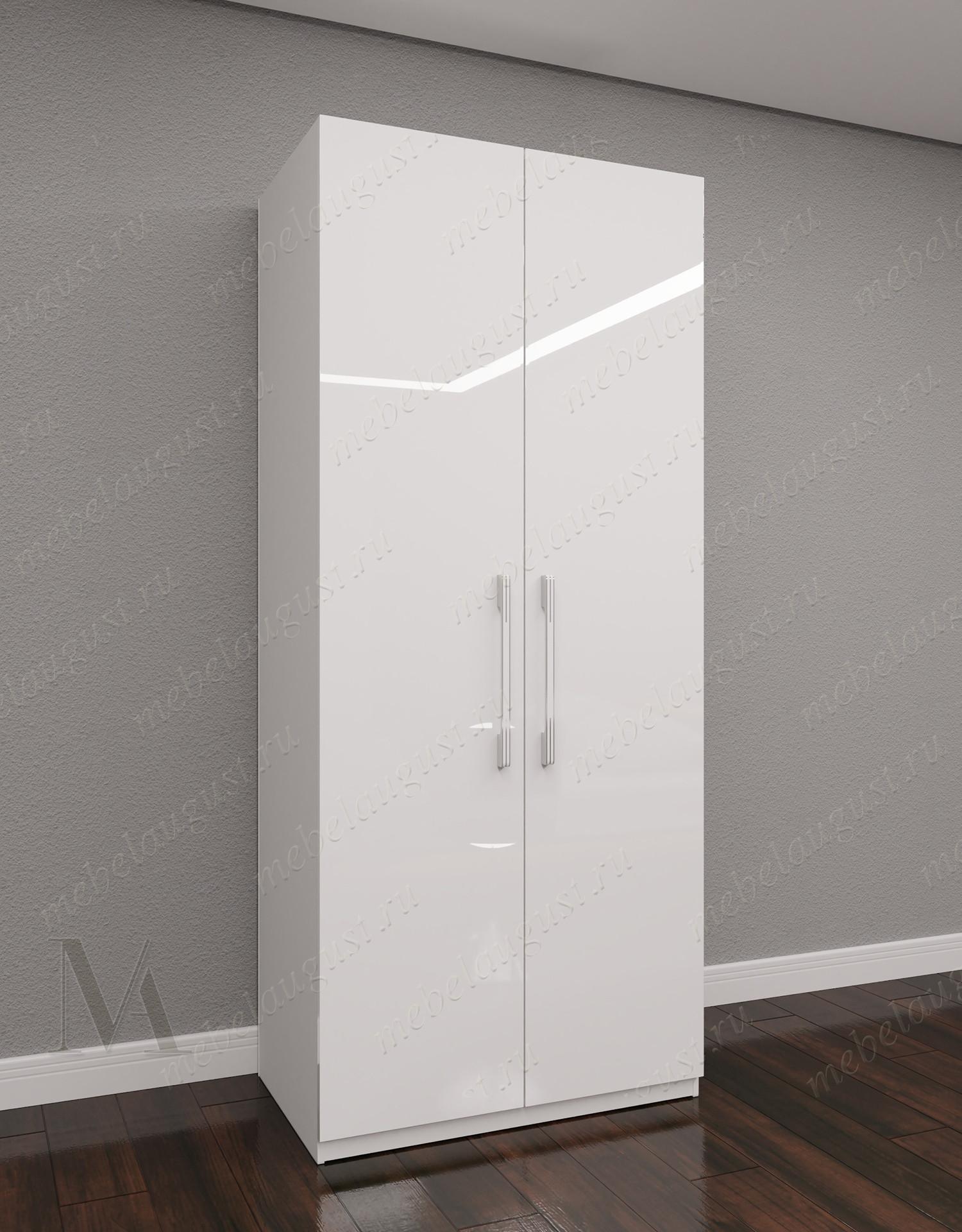 Двухстворчатый распашной шкаф для одежды в спальню