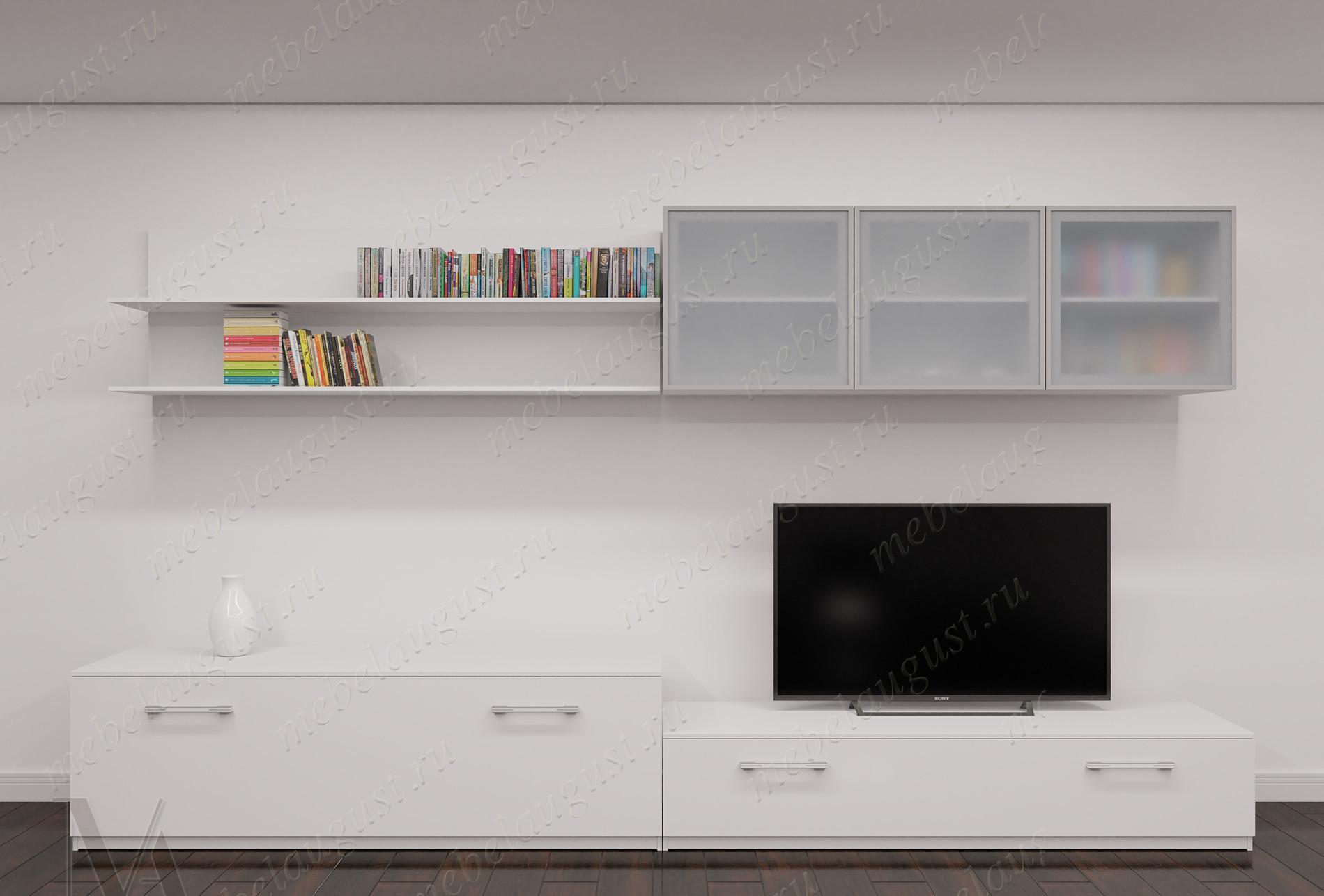 Модульная маленькая мебельная стенка для спальни