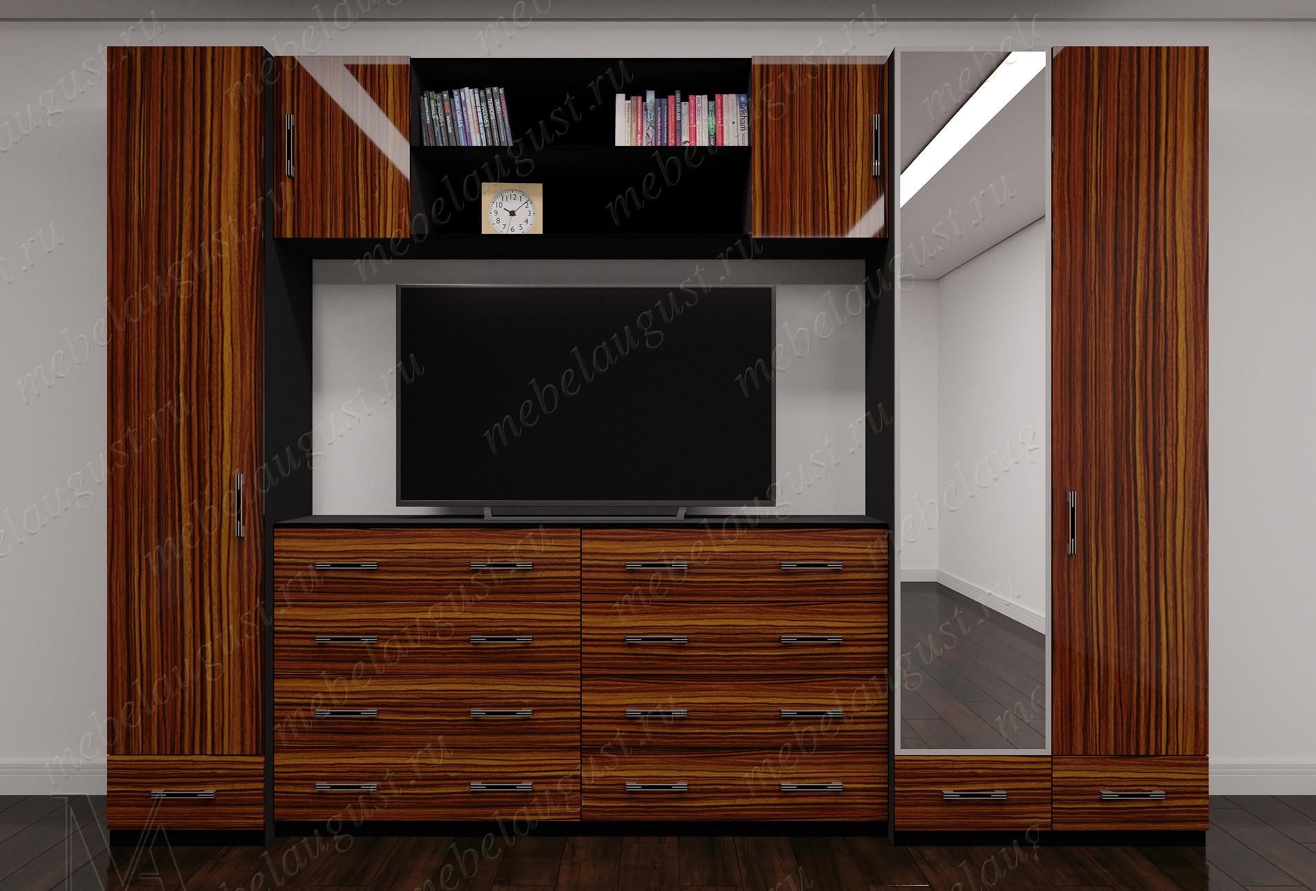 Стенка под телевизор для спальни