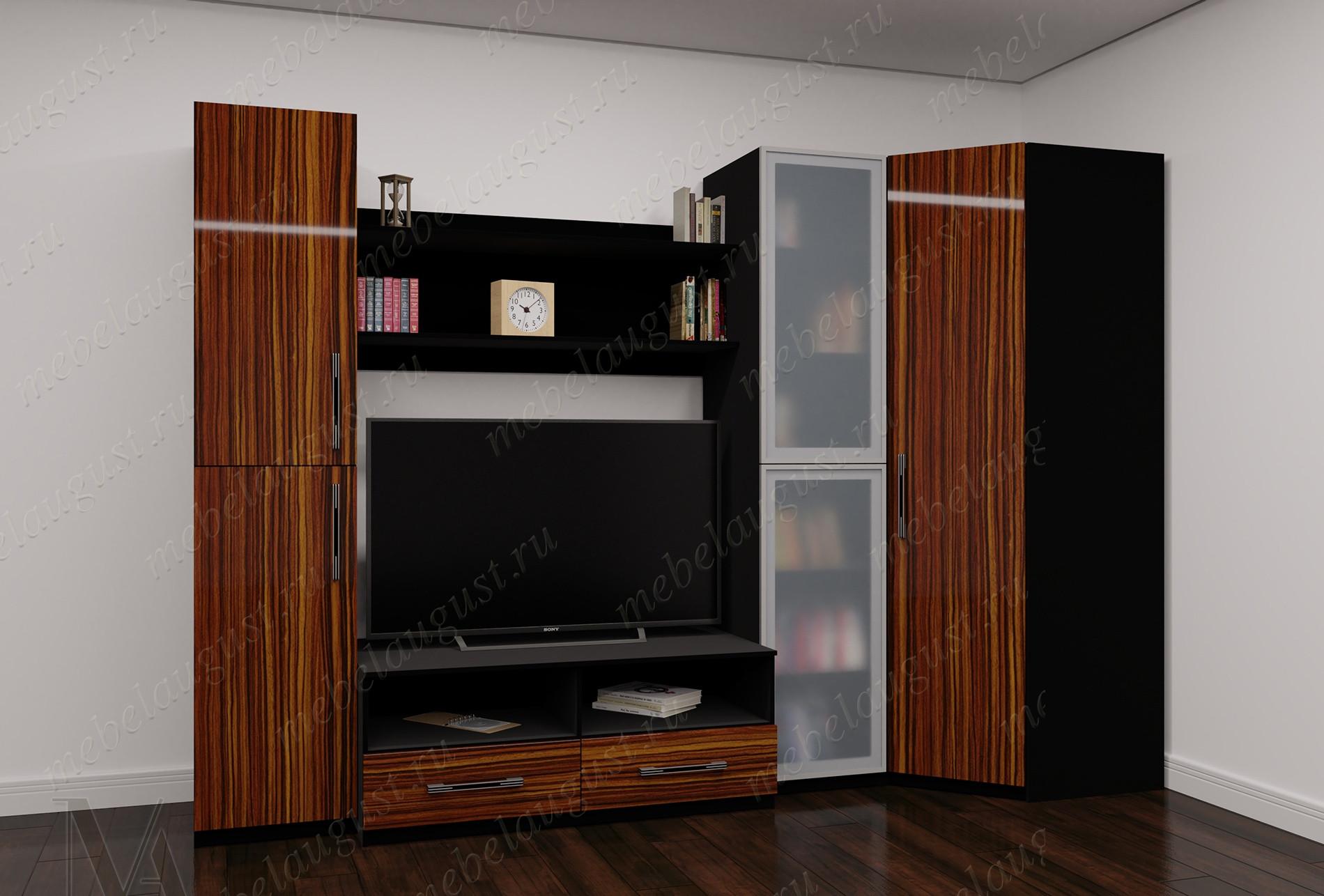 Мебельная стенка с полкой для телевизора