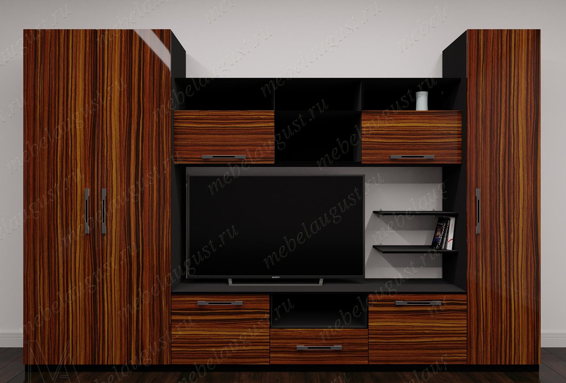 """Мебельная стенка """"верона-1"""" под телевизор"""