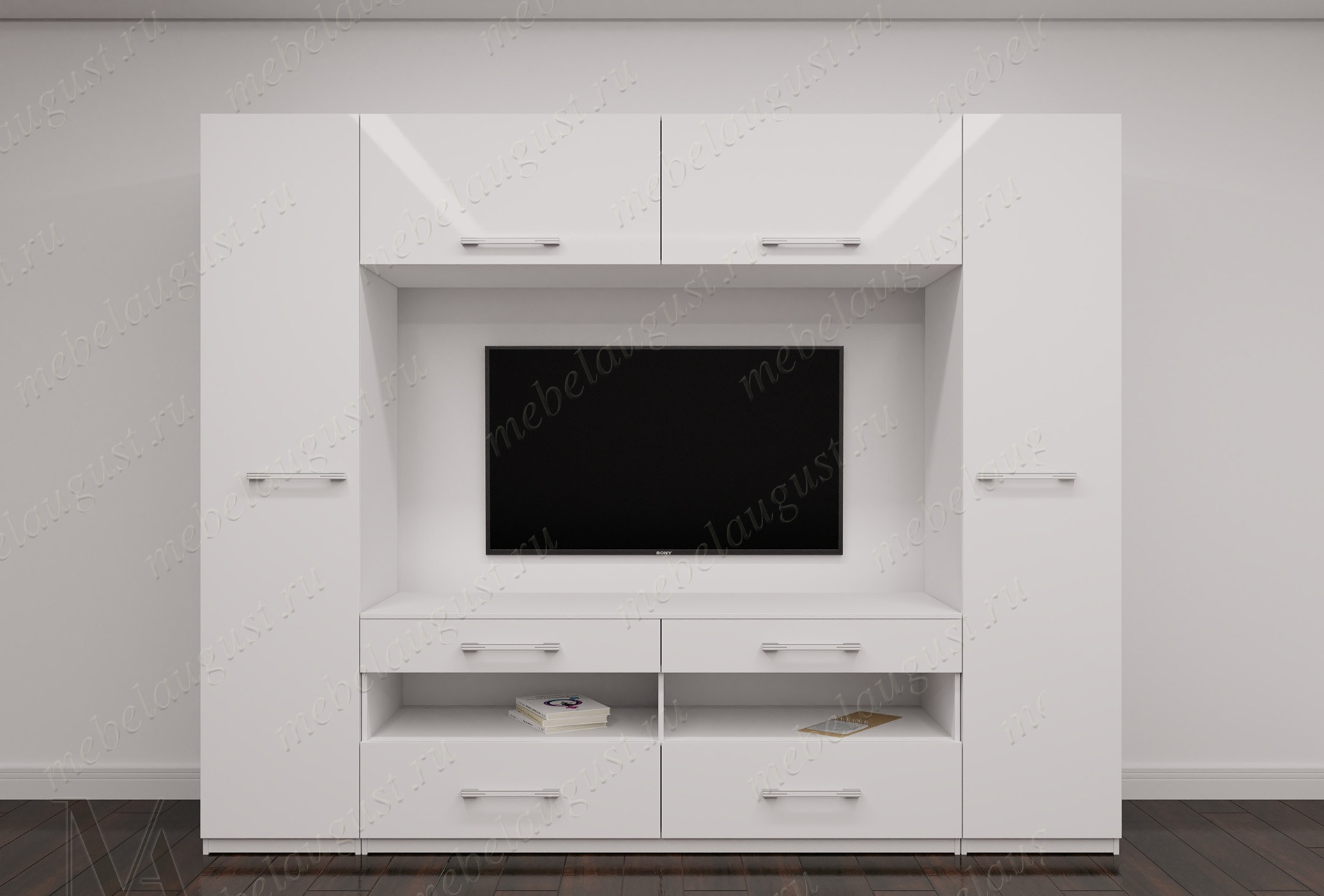 Стенка в гостиную под телевизор в спальню
