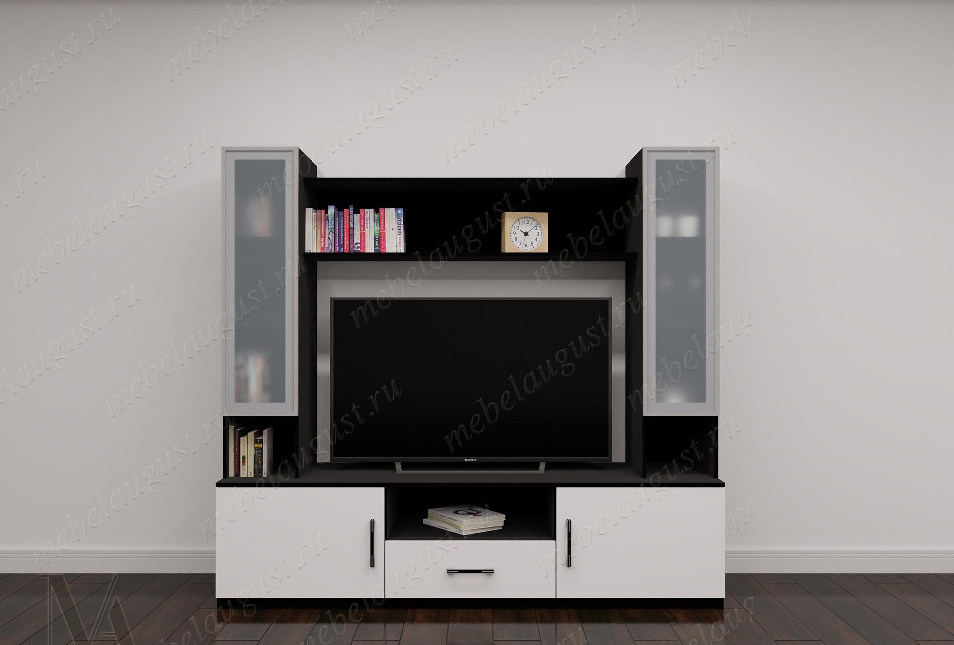 Малогабаритная мебельная стенка под телевизор
