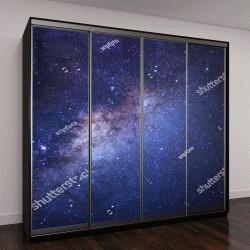 """Шкаф купе с фотопечатью """"Млечный Путь со звездами """""""