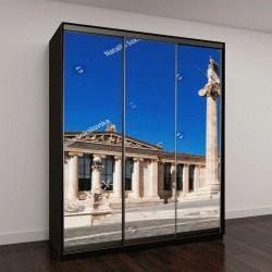 """Шкаф купе с фотопечатью """"Афины, исторический центр в Аттике, Греция"""""""