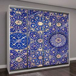 """Шкаф купе с фотопечатью """"исламские традиционные религиозные орнаменты"""""""
