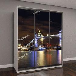 """Шкаф купе с фотопечатью """"Тауэрский мост в Лондоне"""""""