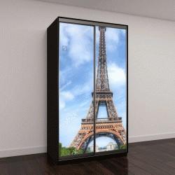 """Шкаф купе с фотопечатью """"Эйфелева башня в Париже, Франция"""""""