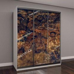 """Шкаф купе с фотопечатью """"Пещеры Аджанта, картина, Аурангабад, Индия"""""""