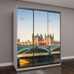 """Шкаф купе с фотопечатью """"Биг Бен и Вестминстерский мост в Лондоне"""""""