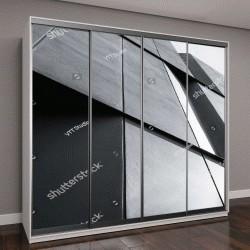 """Шкаф купе с фотопечатью """"Архитектура в деталях, дизайн фасадов современного здания"""""""