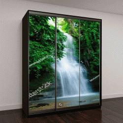 """Шкаф купе с фотопечатью """"водопад в Бангладеш"""""""