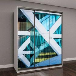 """Шкаф купе с фотопечатью """"Архитектурные детали конференц-центра в Балтиморе, штат Мэриленд"""""""