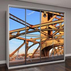 """Шкаф купе с фотопечатью """"Тауэрский мост в Сакраменто, штат Калифорния, США"""""""
