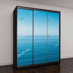 """Шкаф купе с фотопечатью """"Спокойное море и голубое небо """""""