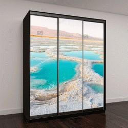 """Шкаф купе с фотопечатью """"Вид мертвого моря"""""""