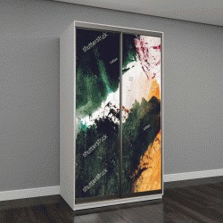 """Шкаф купе с фотопечатью """"Современное искусство,абстрактная живопись"""""""
