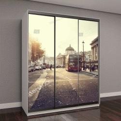 """Шкаф купе с фотопечатью """"закат недалеко от Трафальгарской площади, Лондон, Великобритания"""""""