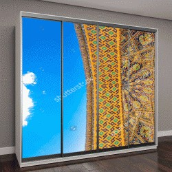 """Шкаф купе с фотопечатью """"Красивый фасад здания мечети """""""