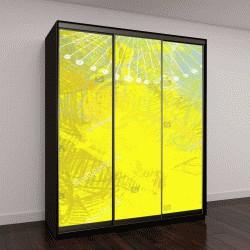 """Шкаф купе с фотопечатью """"Абстрактная живопись на холсте"""""""