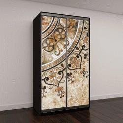 """Шкаф купе с фотопечатью """"красочная мозаика в арабском стиле"""""""