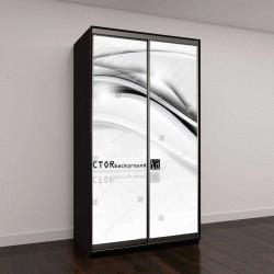 """Шкаф купе с фотопечатью """"eps10 вектор абстрактный элегантный дизайн фон"""""""