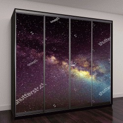"""Шкаф купе с фотопечатью """"галактика Млечный Путь"""""""