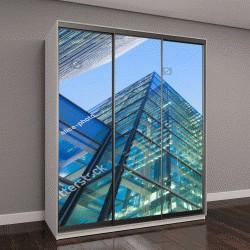 """Шкаф купе с фотопечатью """"офисный небоскреб, здания в лондонском Сити, Англия, Великобритания """""""