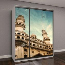 """Шкаф купе с фотопечатью """"храм Чарминар, Индия"""""""