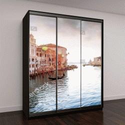"Шкаф купе с фотопечатью ""Панорама Гранд-Канала в Венеции, Италия"""