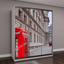 """Шкаф купе с фотопечатью """"Лондон Биг Бен и дом парламента в сумерках в Великобритании"""""""