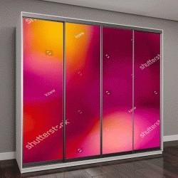 """Шкаф купе с фотопечатью """"разноцветные огни """""""