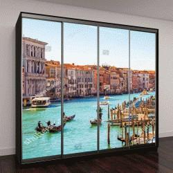 """Шкаф купе с фотопечатью """"Удивительный вид на прекрасную Венецию, Италия"""""""