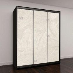 """Шкаф купе с фотопечатью """"обои текстуры фона в светло-сепия тонированная бумага искусства или текстуры обоев для фона в светлый тон, сепия, серый и белый"""""""