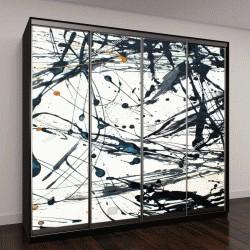 """Шкаф купе с фотопечатью """"Абстрактное искусство творческий фон"""""""