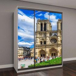 "Шкаф купе с фотопечатью ""Собор Нотр-Дам-де-Пари в Париже, Франция"""