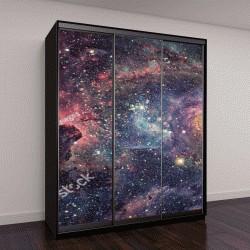 """Шкаф купе с фотопечатью """"Галактики и туманности"""""""