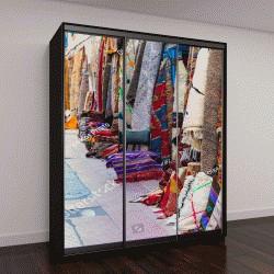 """Шкаф купе с фотопечатью """"Марокканские ковры с яркими цветами """""""
