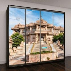 """Шкаф купе с фотопечатью """"Джайнский храм в Гандинагаре, Индии"""""""