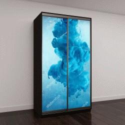 """Шкаф купе с фотопечатью """"облако синего цвета """""""