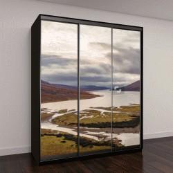 """Шкаф купе с фотопечатью """"Вид из Шотландии, панорамный пейзаж"""""""