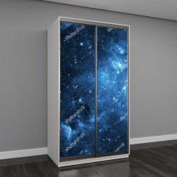 """Шкаф купе с фотопечатью """"галактики и звезд"""""""
